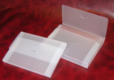 A5 Document boxes produced in polypropylene